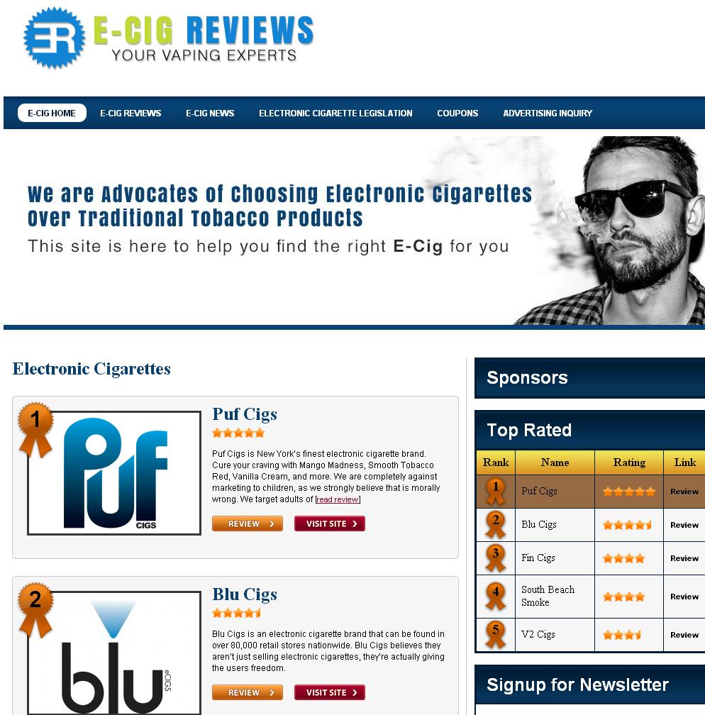 Electronic Cigarettere Views