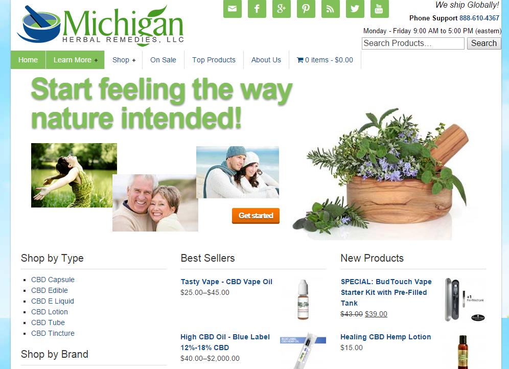 Michigan Hherbal Remedies