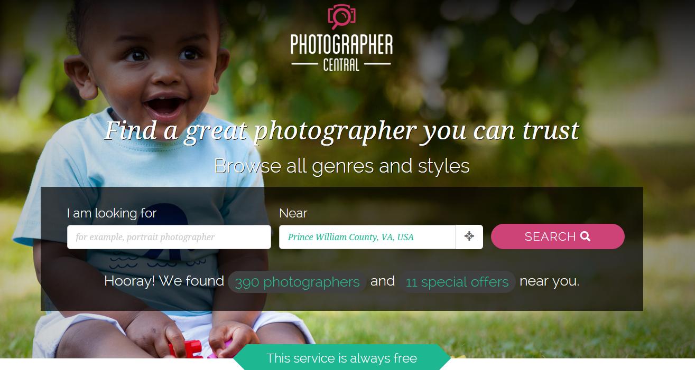 Photographer Central
