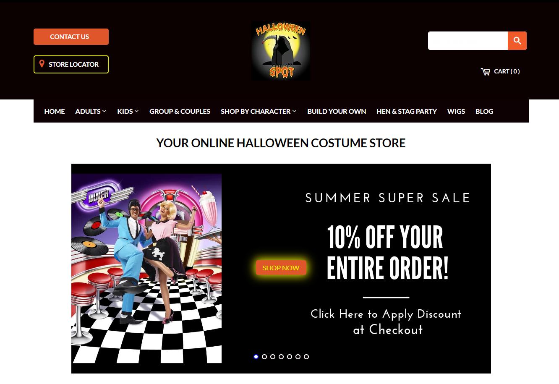 thehalloweenspot.com